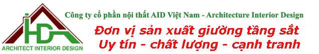 Giường tầng – giường sắt – Cty nội thất AID Vietnam