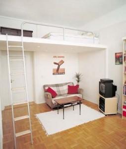 Thiết kế phong thủy đẹp cho nhà chỉ 1 phòng