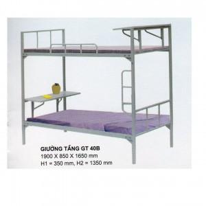 giường tầng sinh viên có bàn học