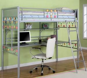 Giường tầng sắt cho trẻ em