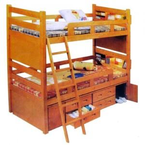 Mau giuong T300 300x300 Giường tầng cho trẻ nhỏ   cho bé yêu