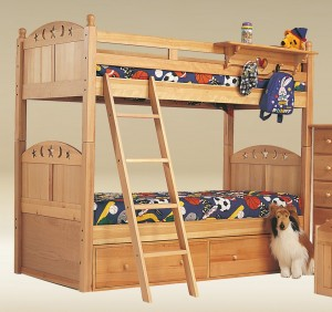 giuong dep cho be 05 300x282 Mẫu giường tầng đẹp cho bé yêu