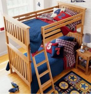 giuong tang sang tao 02 293x300 Mẫu giường tầng sáng tạo cho phòng bé