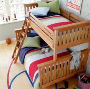giuong tang sang tao 04 300x297 Mẫu giường tầng sáng tạo cho phòng bé