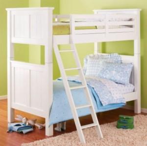 Mẫu giường tầng sáng tạo cho phòng bé