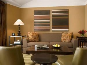 6 bảng màu dùng cho trang trí nội thất phòng khách